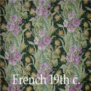 French Fabrics 19th century