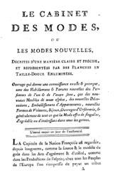 Le Cabinet des Modes 1785