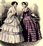crinoline Paris 1850